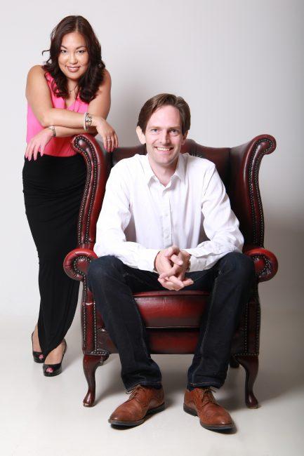 Adam & Tammy Leather Chair